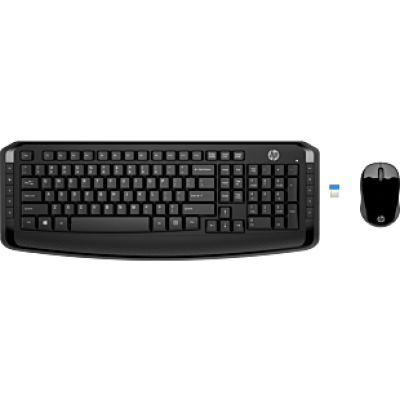 HP wireless Keyboard  & Mouse 300