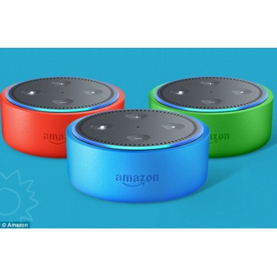 Echo Dot Kids Edition - Blue/Green/Red