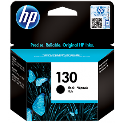 HP 130 Black Original Ink Cartridge (C8767HE)