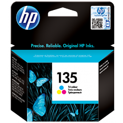 HP 135 Tri-color Original Ink Cartridge (C8766HE)
