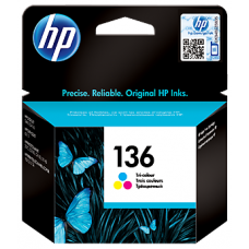 HP 136 Tri-color Original Ink Cartridge (C9361HE)
