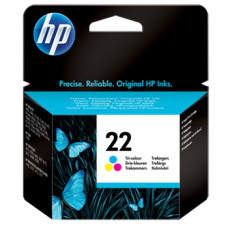 HP 22 Tri-color Original Ink Cartridge (C9352AE)
