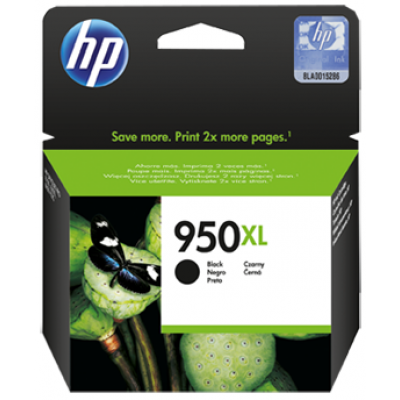 HP 950XL High Yield Black Original Ink Cartridge (CN045AE)