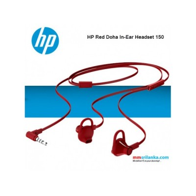 HPAcc HEADSET-HP-IN-EAR-150-RED